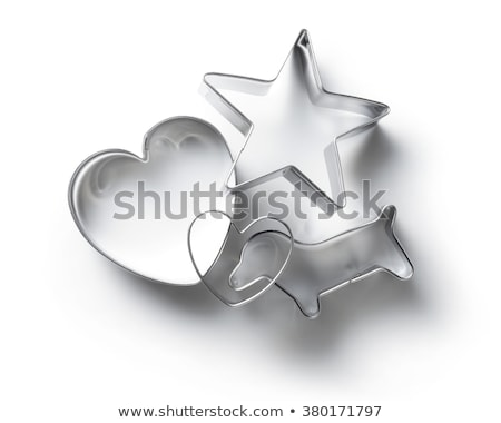 Silver cutter on white background Stock photo © jakgree_inkliang