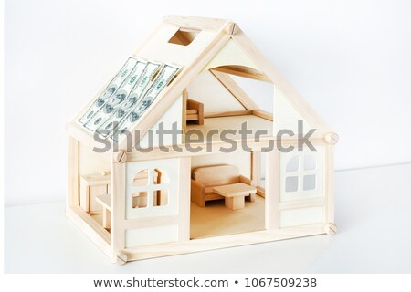 Architect unsure about a building model Stock photo © photography33