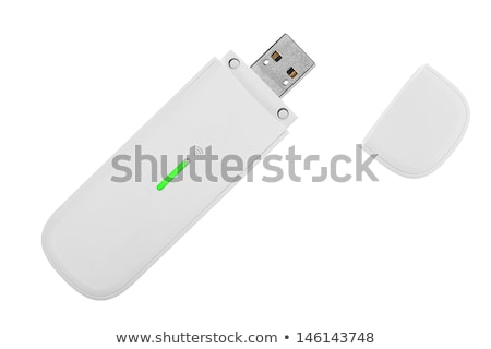 Usb modem isolado branco computador tecnologia Foto stock © RuslanOmega