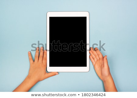 girl searches necessary things Stock photo © ssuaphoto