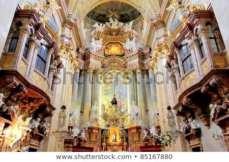 kerk · België · hemel · textuur · klok - stockfoto © pixxart