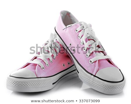 pink sneaker isolated stock photo © pterwort
