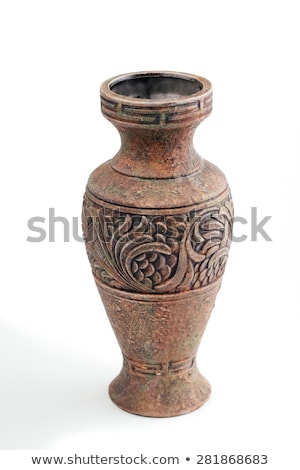 Antique grec vase olive branche isolé Photo stock © dayzeren