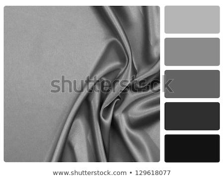 Black satin colour palette swatch Stock photo © REDPIXEL