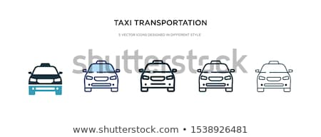 set of transport icons   two stock photo © ecelop