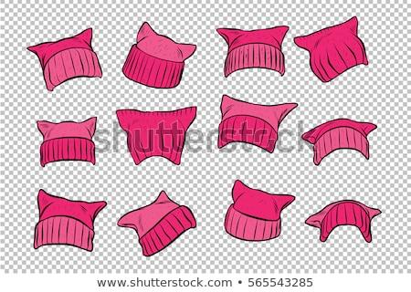 Pink Hat Stok fotoğraf © rogistok