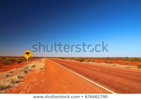 outback road sign stock photo © itobi