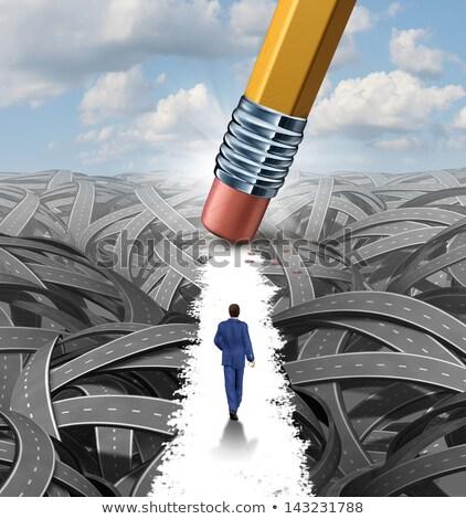Financiële schuld beheer rijden budget geld Stockfoto © Lightsource
