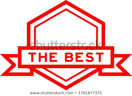 best choice in red hexagon banner Stock photo © marinini