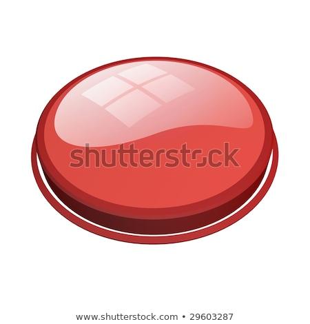 веб-иконы · красный · популярный · бизнеса · человека - Сток-фото © radoma