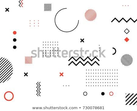 Retro seamless background with geometric shapes. Stock photo © ekapanova