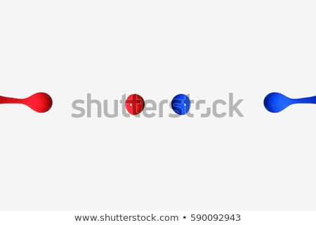 Blood drops on a white background Stock photo © Zerbor