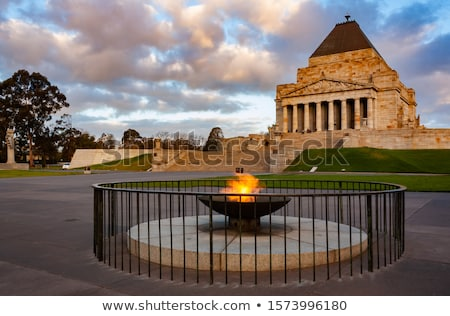 Shrine of Remembrance Melbourne Stock photo © backyardproductions