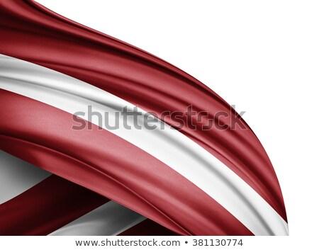 Латвия бизнеса история карта флаг Сток-фото © 5xinc