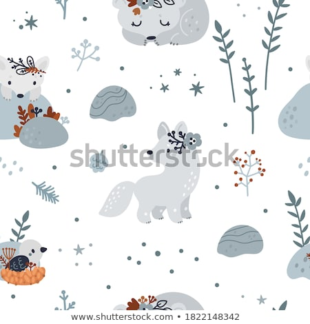 winter birds vector stock photo © beaubelle