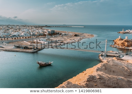 View to Sur in Oman Stock photo © w20er