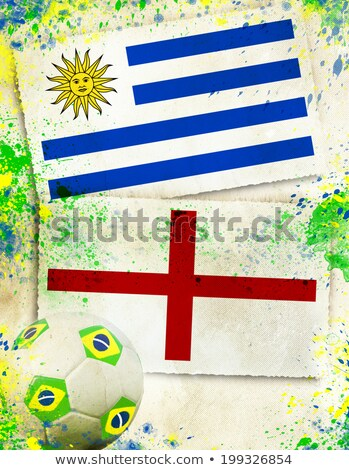 Uruguay · vs · Engeland · groep · fase · wedstrijd - stockfoto © smocker03