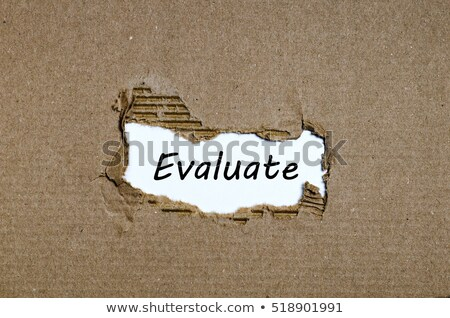 Audit Torn Paper Concept Stock photo © ivelin