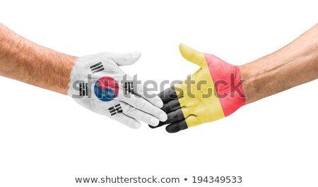 Zuid-Korea · vs · België · groep · fase · wedstrijd - stockfoto © smocker03