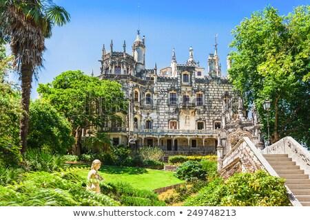 リスボン ポルトガル も 美しい 公園 庭園 ストックフォト © vichie81