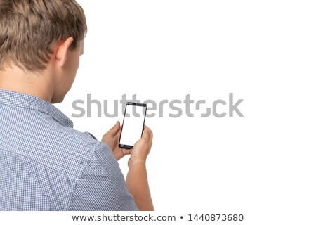 Stock photo: Talk Behind Your Back