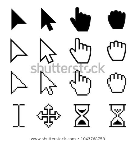 Different Web Buttons with Hand Cursor. Stock photo © tashatuvango