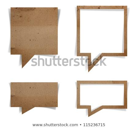 Textura grunge origami banner gradiente papel Foto stock © adamson
