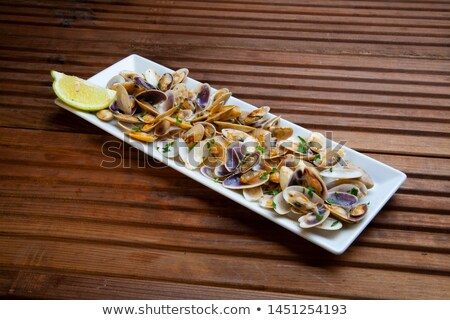 Cooking clams Stock photo © elvinstar