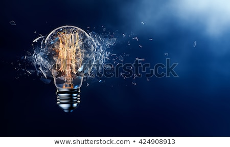 EXploding Light bulb Stock photo © stevanovicigor