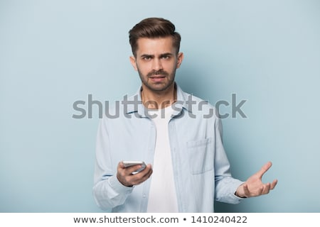 mad casual man Stock photo © zittto
