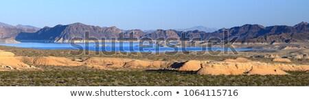 パノラマ 湖 風景 ネバダ州 フーバー·ダム 水 ストックフォト © Rigucci