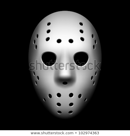 white goalie mask Stock photo © JamiRae