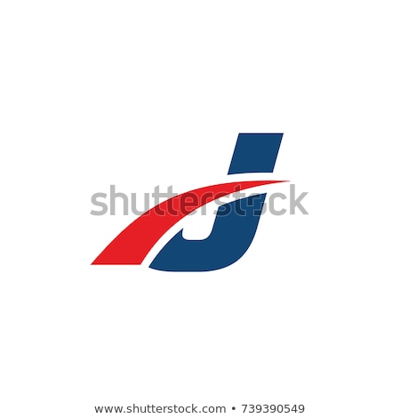 red letter j logo icon Stock photo © blaskorizov