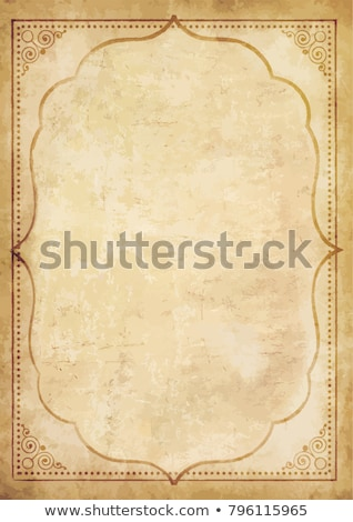 Eastern style grungy paper  Stock photo © ezggystar