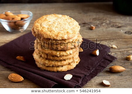 Wholegrain nutty cookies Stock photo © Digifoodstock