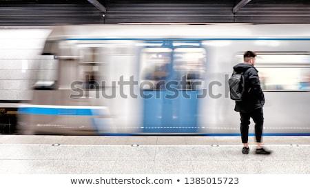 wspaniały · usprawnione · pociągu · technologii · tle - zdjęcia stock © ssuaphoto