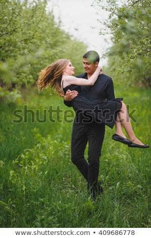 Сток-фото: человека · девушки · стороны · рук · любви · женщины