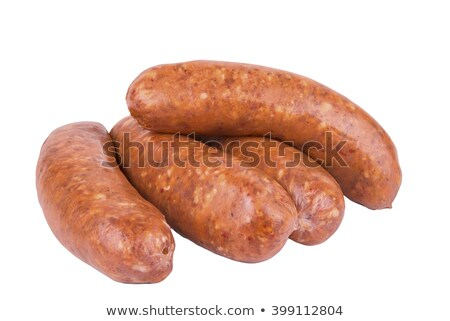 Bunch of Sausage Stock photo © shutswis