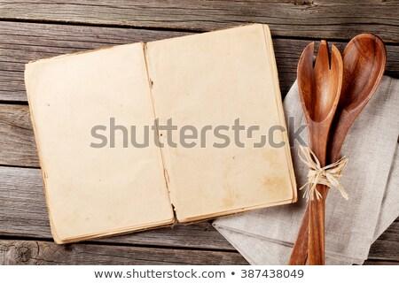 Eski kitap rustik tablo grunge stil Stok fotoğraf © Valeriy