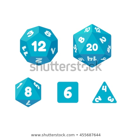 12-sided die  Stock photo © Digifoodstock