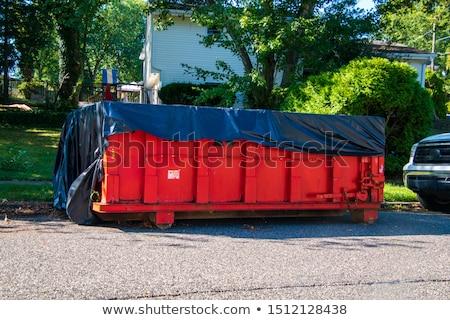 мусор мусора городского среде контейнера загрязнения Сток-фото © stevanovicigor