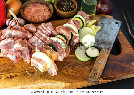 vermelho · fresco · preparação · de · alimentos · alimentação · saudável - foto stock © digifoodstock