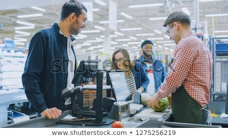 Business cash register on a clean desk Stock photo © ozgur