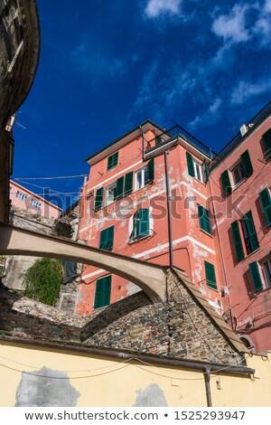 типичный итальянский фасад Италия улице город Сток-фото © Photooiasson