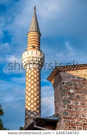 Cuma Camii Dzhumaya Mosque Plovdiv Stock photo © vilevi