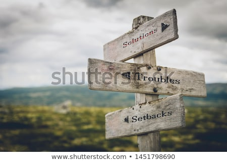 SETBACK Stock photo © chrisdorney
