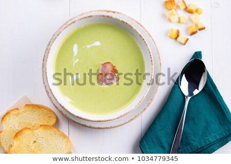 豌豆 · 白 · 盤 · 照片 · 綠色 · 叉 - 商業照片 © d_duda