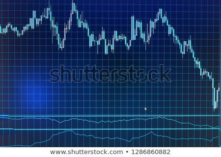 Imprimé forex croissant graphique argent résultat Photo stock © your_lucky_photo