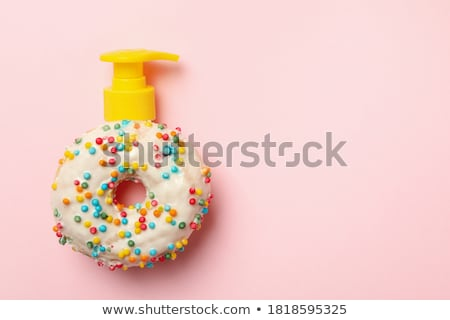Donut with dispenser. Stock photo © Fisher