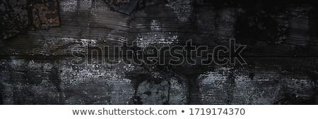 Stock fotó: Feketefehér · textúra · fából · készült · deszkák · otthon · háttér